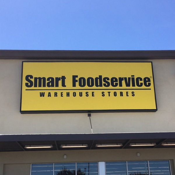 Grocery sign Smart Foodservice sign