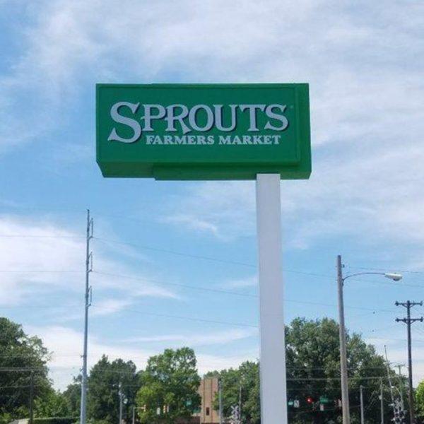Grocery Sprouts pylon pylon