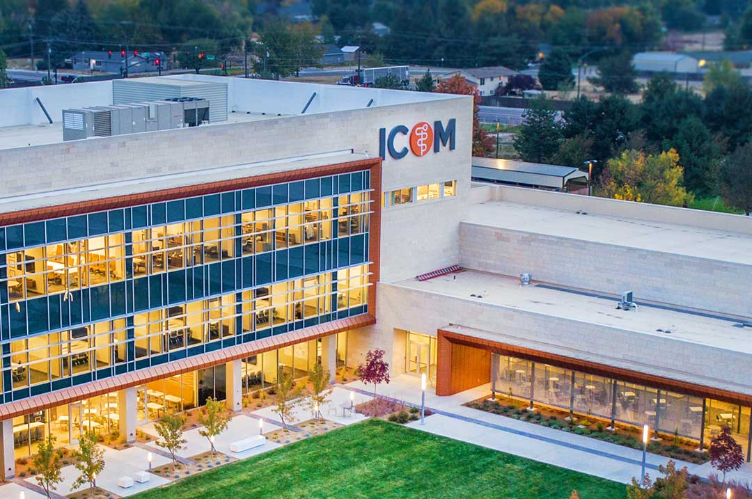 Healthcare Idaho College Campus sign