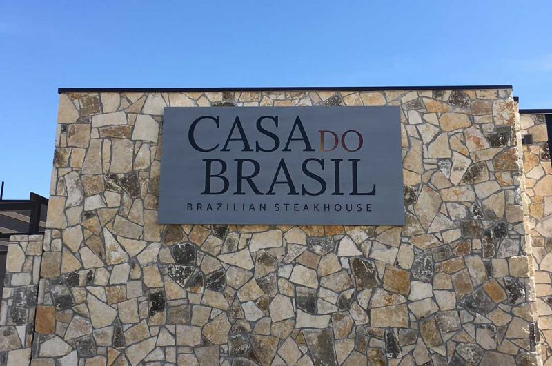 Restaurants Casa do Brasil exterior sign