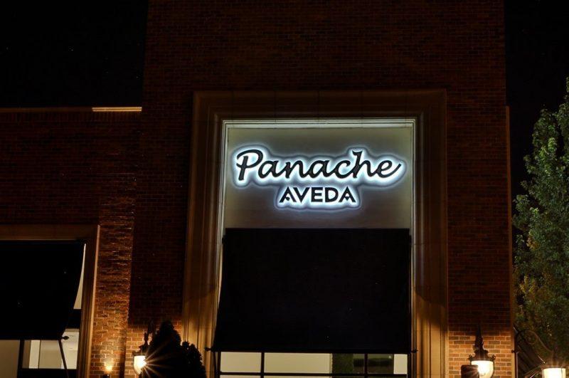 Retail Panache Aveda exterior sign