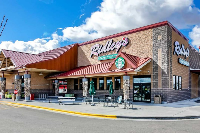 Retail Ridley's family market