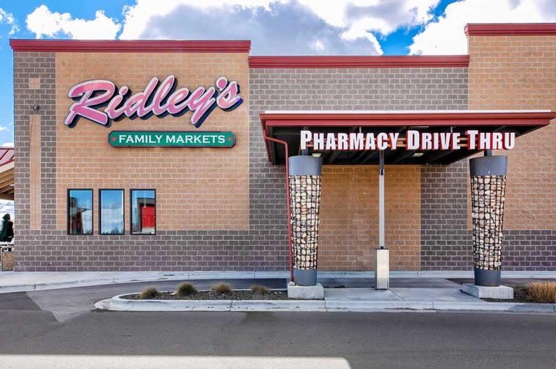Retail Ridley's family market pharmacy