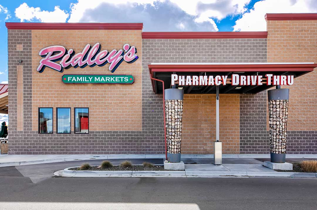 Retail Ridley's family market pharmacy